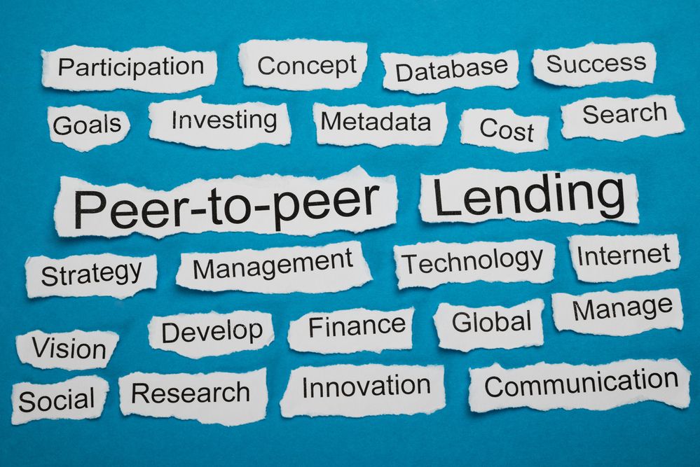 peer to peer lending concept art