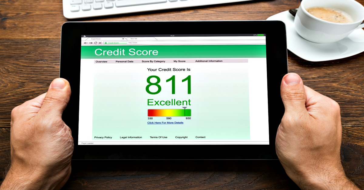 how to check your credit score using designated websites