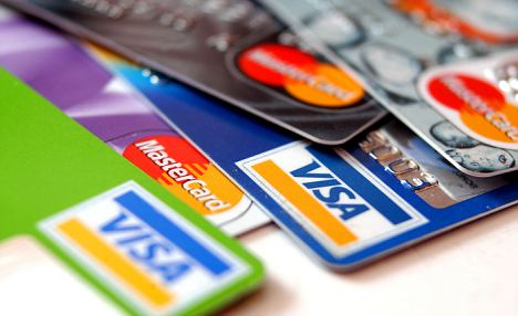 Generic credit cards picture