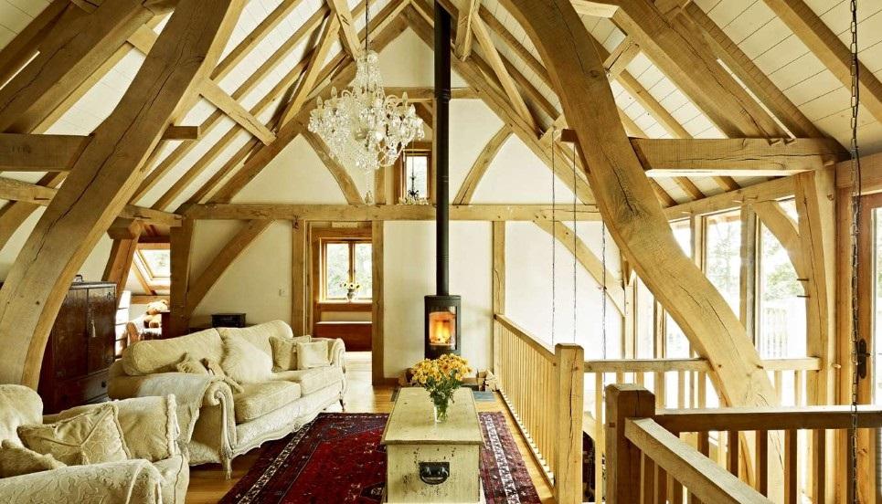 DIY bedroom in the attic