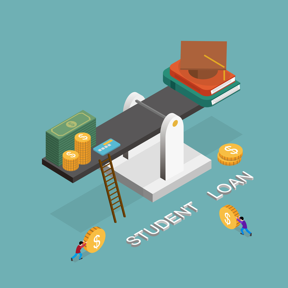 how do student loans work concept art