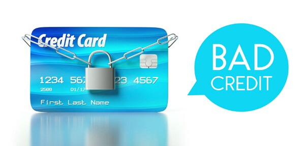 credit cards for people with bad credit concept art