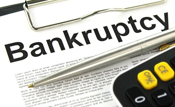 What happens when you file for bankruptcy explained in newspaper