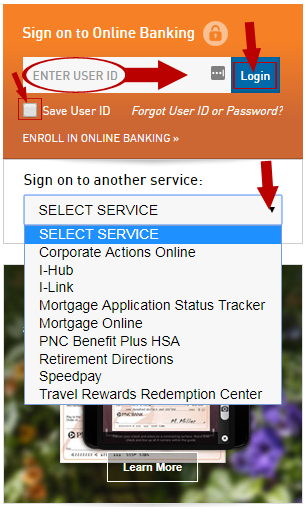 PNC Online Banking Login — Money Plate