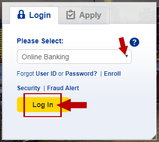 MCU Online Banking Login — Money Plate