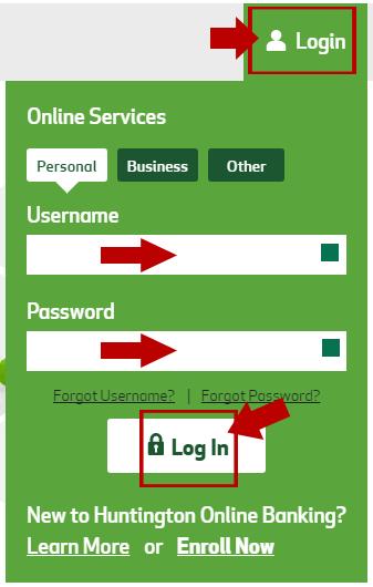 FirstMerit Huntington Bank Online Banking Login