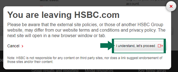 Hsbc Online Banking Login Step 3