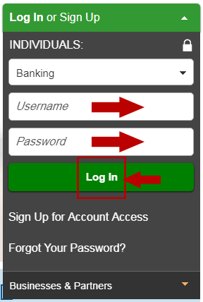 Nationwide Online Banking Login Step 3