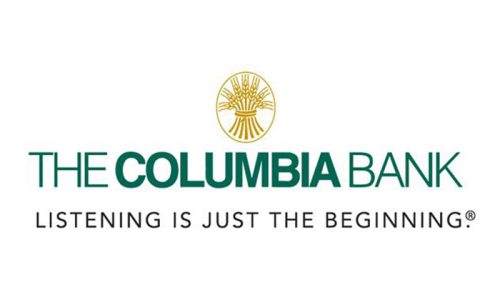 logo for the columbia bank