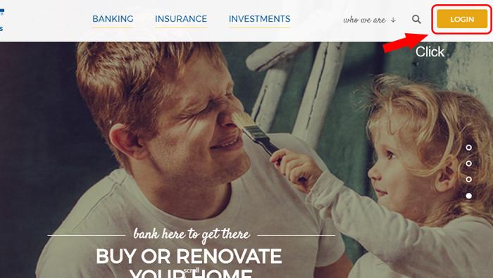 univest bank homepage login