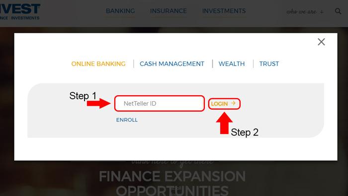 univest bank account login