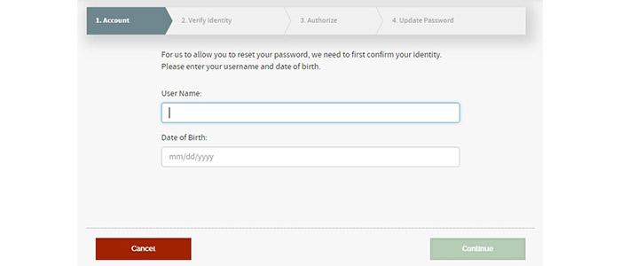Interactive Brokers WebTrader Reset Password
