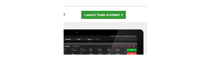 Trade Architect Login Button