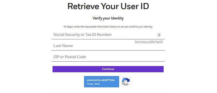 TradeMONSTER Retrieve User ID